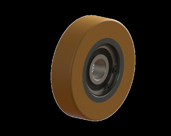 ROLLE ACLATHAN-VU 94A; ST; D.100/20X25 MM; 1X6304-2RS; SI.-R.