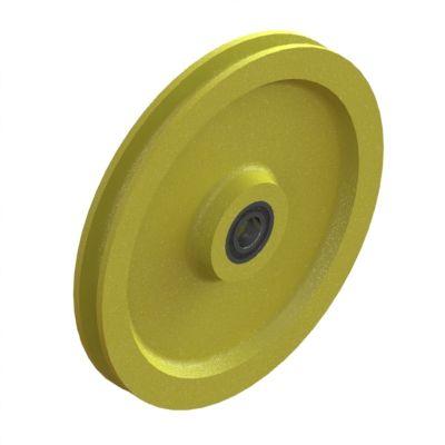 Seilspannrolle Ø 200 mm mit R 4,5 (Typ PA LL)
