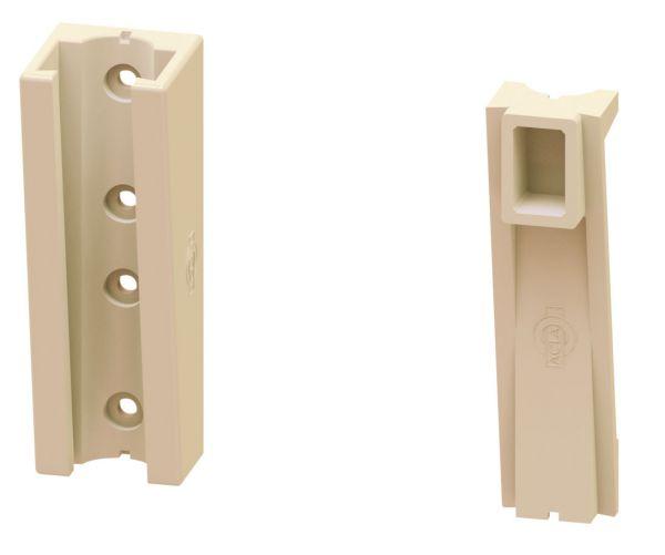 ACLA Rundkabel-Aufhängung aus ACLAMID®, für Kabelaußendurchmesser von 6 - 26 mm, 3-teilig