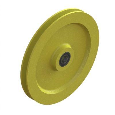 Seilspannrolle Ø 215 mm mit R 3,5 (Typ PA LL)